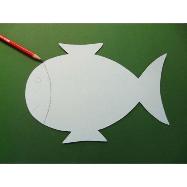 Kostenlose Malvorlage Oder Bastelvorlage Fische 10