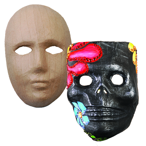 Pappmasken