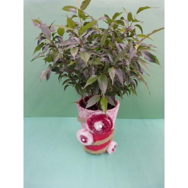 Blumentopf basteln eine besondere und geniale bastelidee for Blumentopf rot